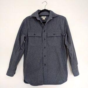 L.L. Bean Chamois Cotton Button Up / XS
